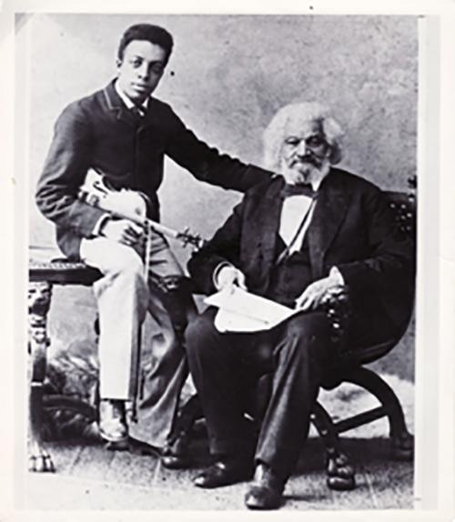 frederick douglass with grandson joseph